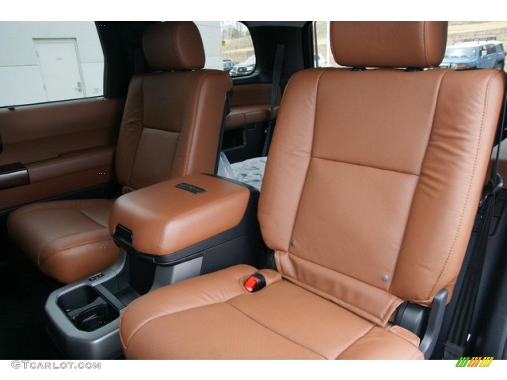 Red rock interior 2013 toyota sequoia platinum 4wd photo 79060501