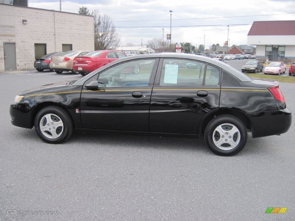 Black 2003 Saturn Ion 1 Sedan Exterior Photo 79066891