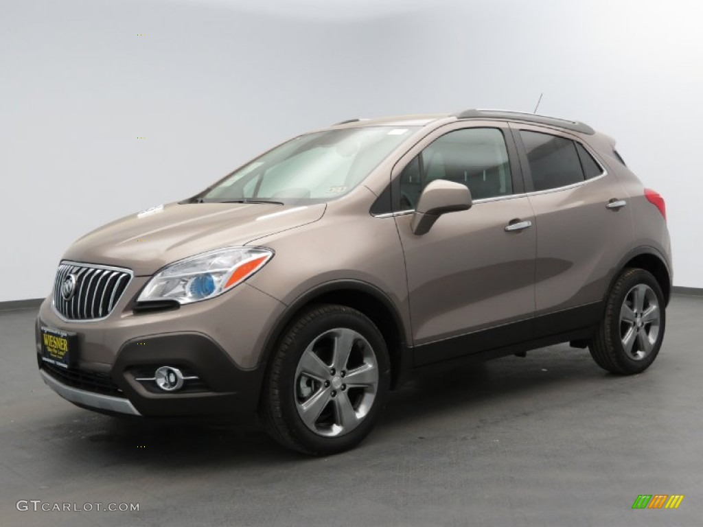 2013 Cocoa Silver Metallic Buick Encore Convenience