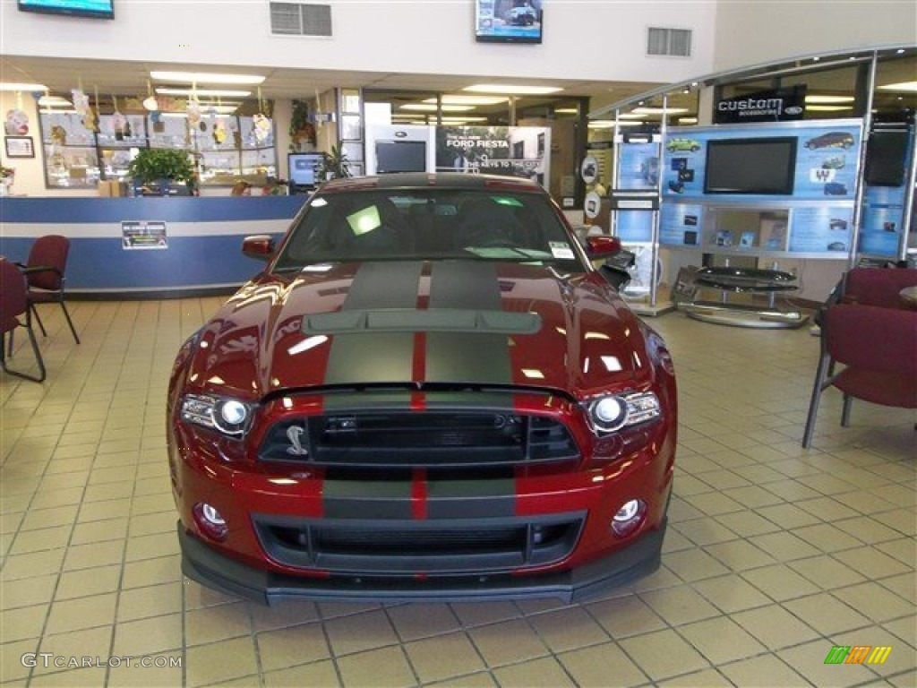 2014 Ruby Red Ford Mustang Shelby GT500 SVT Performance ...