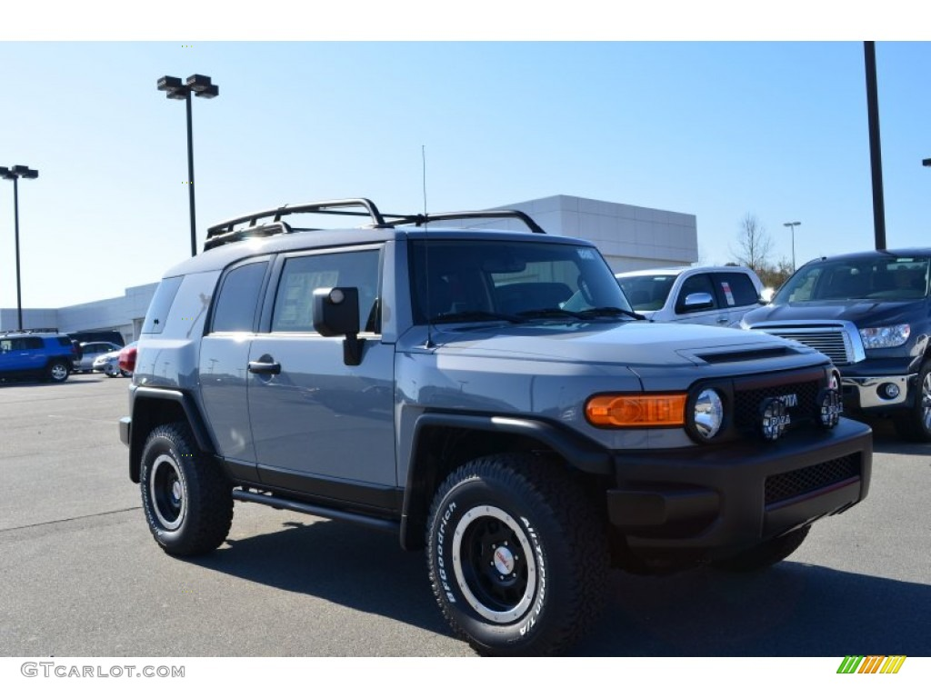 2013 trail teams cement gray toyota fj cruiser trail teams special edition 4wd 79058583 photo. Black Bedroom Furniture Sets. Home Design Ideas