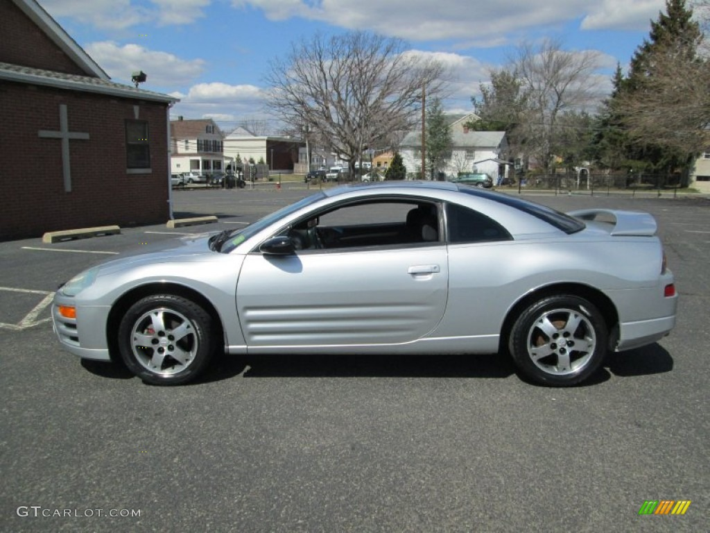 sterling silver metallic 2003 mitsubishi eclipse gs coupe exterior photo 79082322. Black Bedroom Furniture Sets. Home Design Ideas