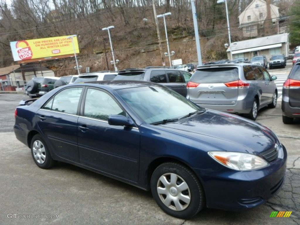 2003 catalina blue metallic toyota camry le 79059206. Black Bedroom Furniture Sets. Home Design Ideas