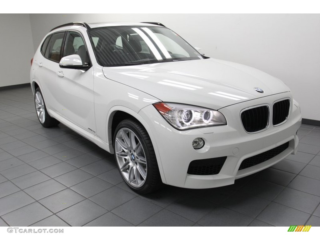 Alpine White 2013 Bmw X1 Xdrive 35i Exterior Photo