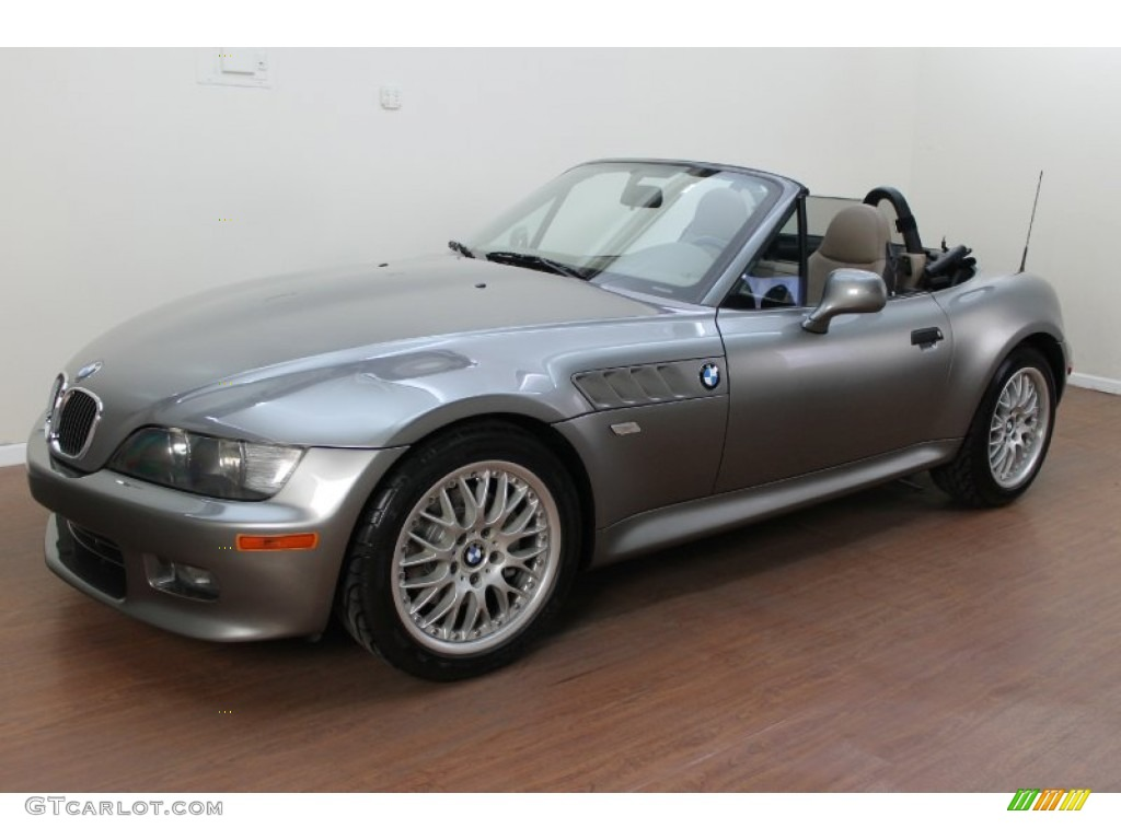 2001 Steel Grey Metallic Bmw Z3 3 0i Roadster 79058515