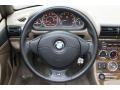 2001 BMW Z3 Beige Interior Steering Wheel Photo
