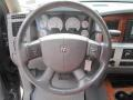 Medium Slate Gray Steering Wheel Photo for 2007 Dodge Ram 3500 #79107049