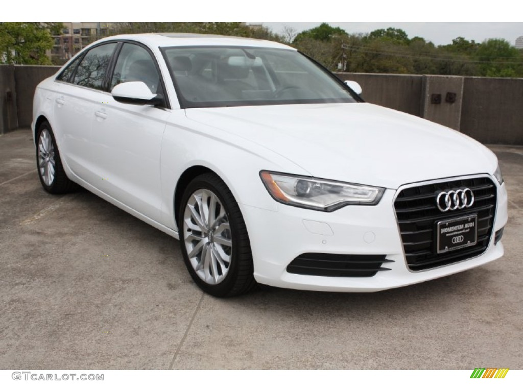 2013 ibis white audi a6 2 0t sedan 79059177 car color galleries. Black Bedroom Furniture Sets. Home Design Ideas