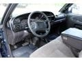 2001 Dodge Ram 3500 Mist Gray Interior Prime Interior Photo