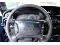 2001 Dodge Ram 3500 Mist Gray Interior Steering Wheel Photo