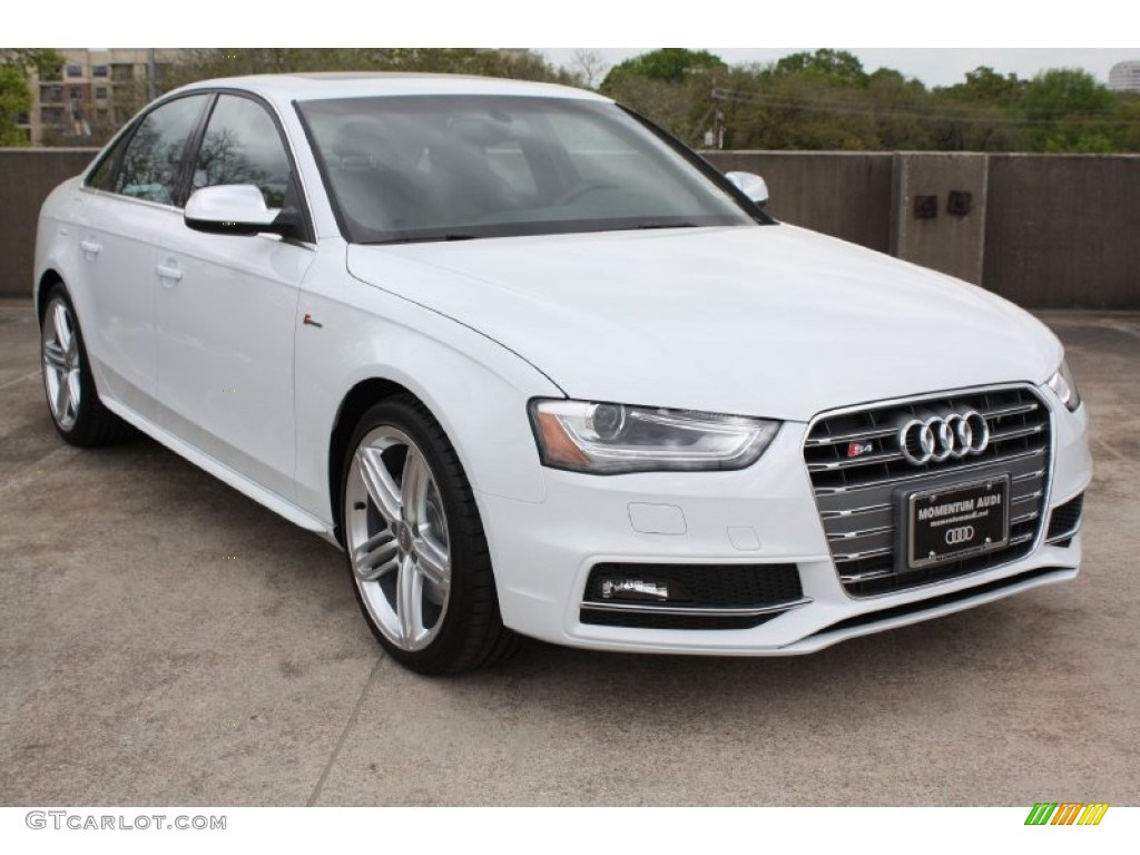 2013 Glacier White Metallic Audi S4 3 0t Quattro Sedan 79059168 Gtcarlot Com Car Color