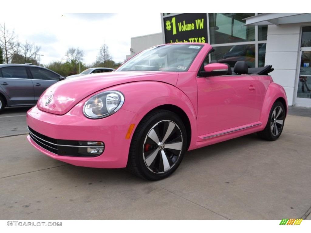 2013 custom pink volkswagen beetle turbo convertible 79058834 photo 7 car. Black Bedroom Furniture Sets. Home Design Ideas
