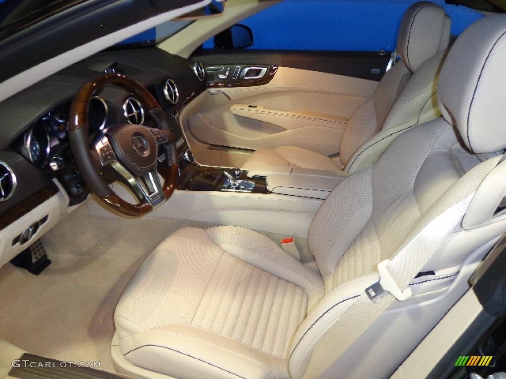Beige Brown Interior 2013 Mercedes Benz Sl 550 Roadster Photo 79128489