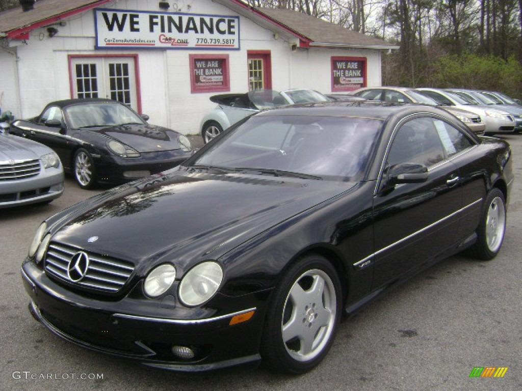 2002 black mercedes benz cl 600 79126779 for 2002 mercedes benz cl500