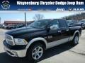 Black 2013 Ram 1500 Laramie Quad Cab 4x4