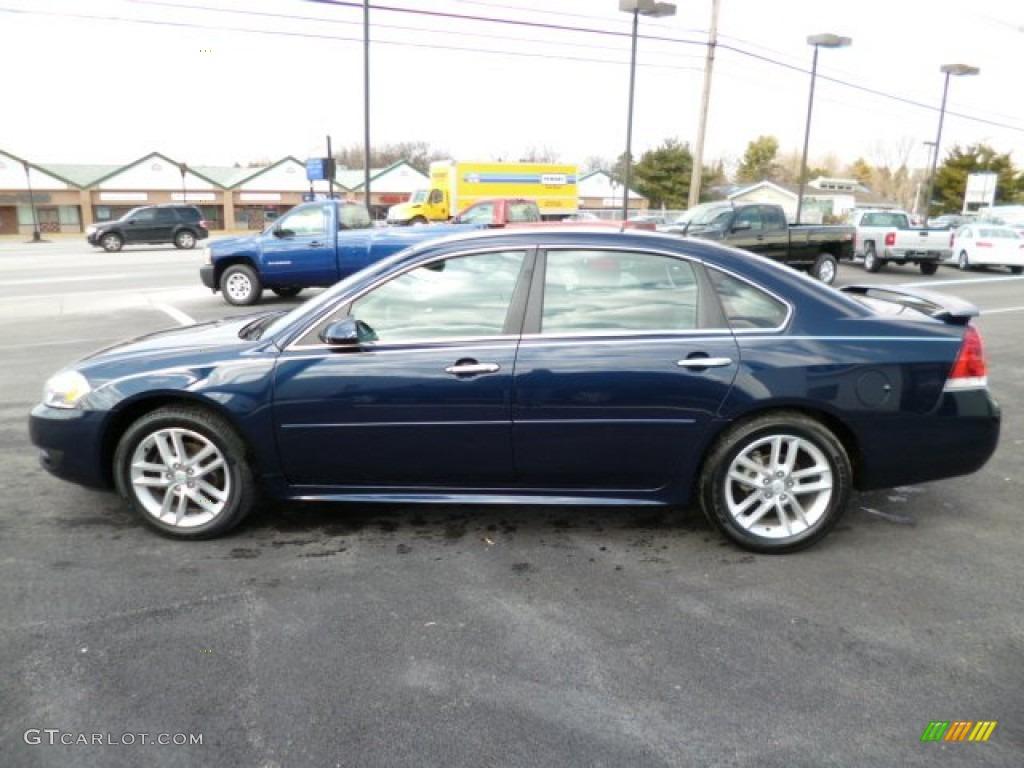 Imperial Blue Metallic 2012 Chevrolet Impala Ltz Exterior Photo 79154031