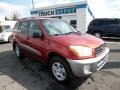 Impulse Red 2002 Toyota RAV4 Gallery