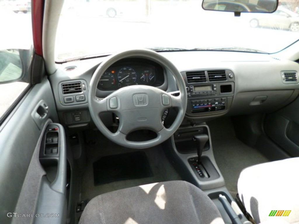 1997 Honda Civic Lx Sedan Gray Dashboard Photo 79156704
