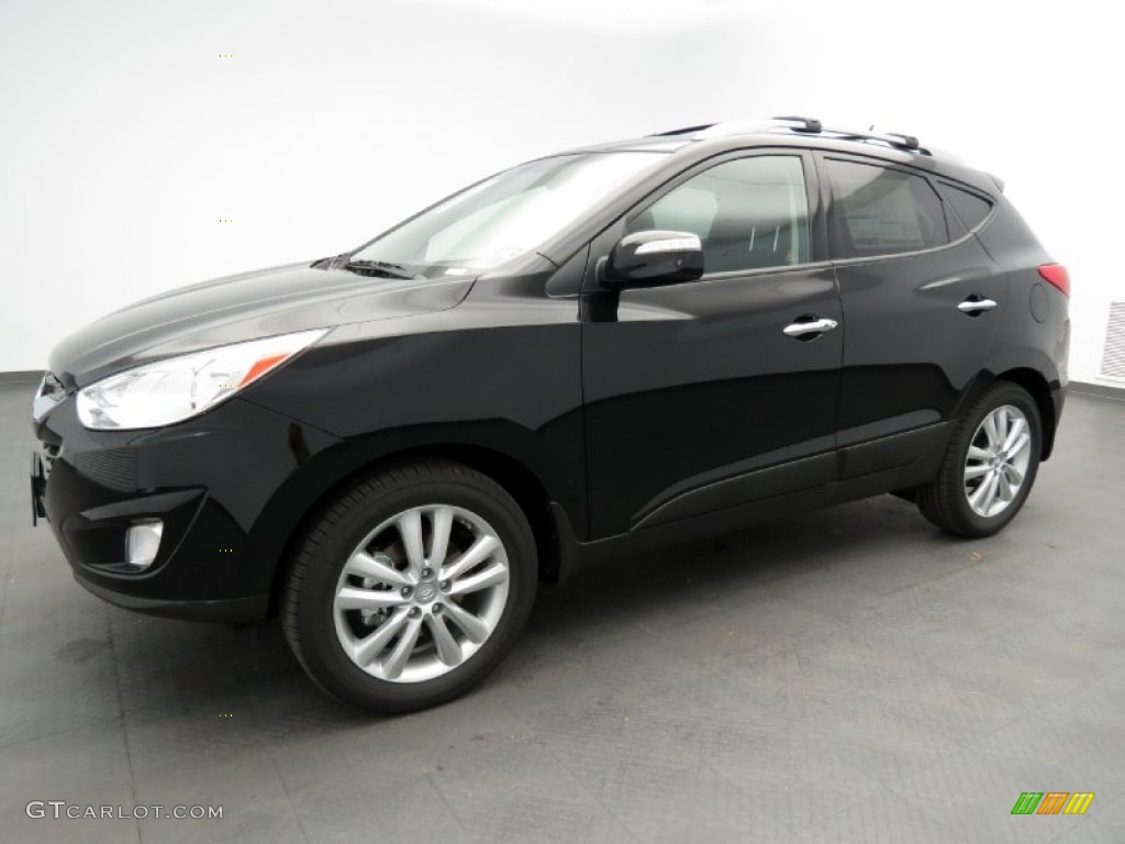 Ash Black 2013 Hyundai Tucson Limited Exterior Photo