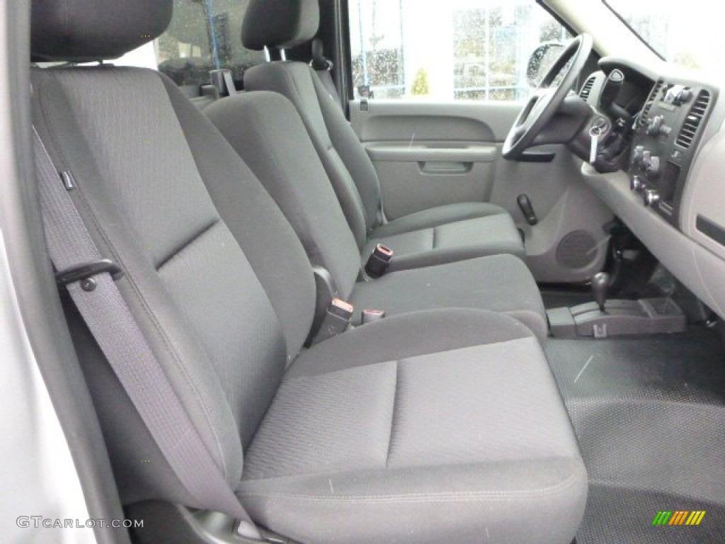 Dark Titanium Interior 2011 Chevrolet Silverado 1500 Regular Cab 4x4 Photo #79170802