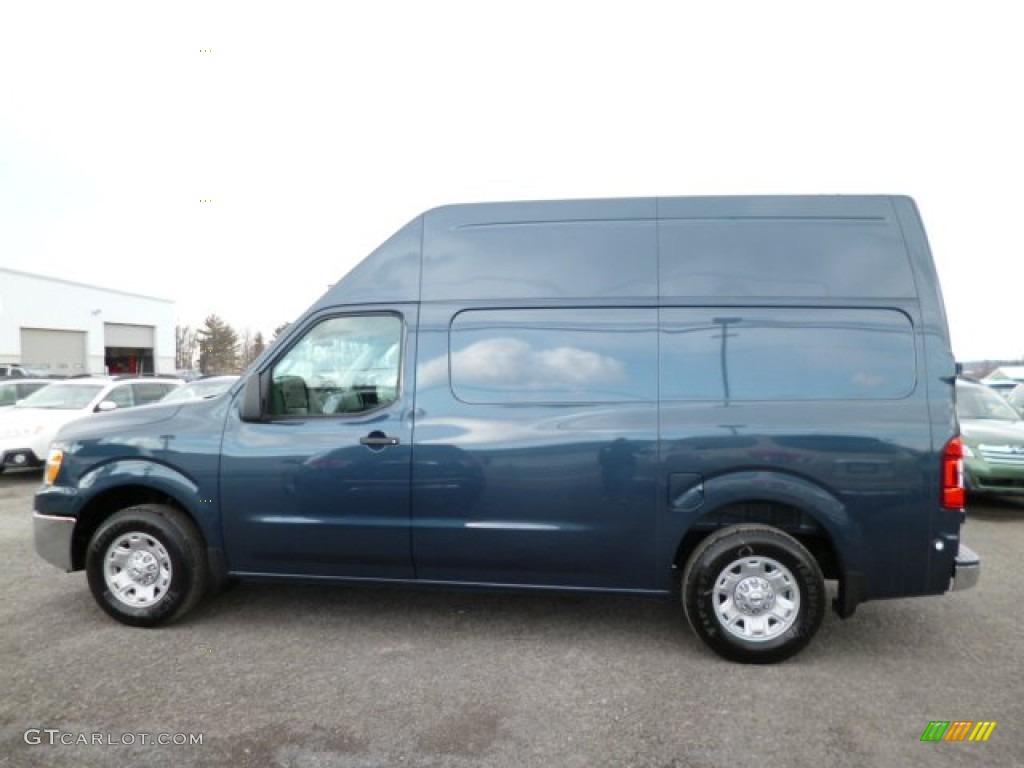 2013 graphite blue nissan nv 2500 hd sv high roof 79158138 photo 4 car color. Black Bedroom Furniture Sets. Home Design Ideas