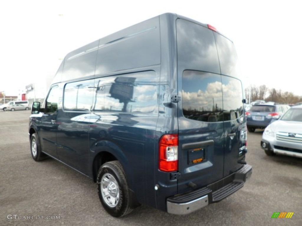 2013 graphite blue nissan nv 2500 hd sv high roof 79158138 photo 5 car color. Black Bedroom Furniture Sets. Home Design Ideas