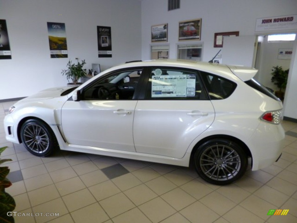 Satin White Pearl 2013 Subaru Impreza Wrx Limited 5 Door