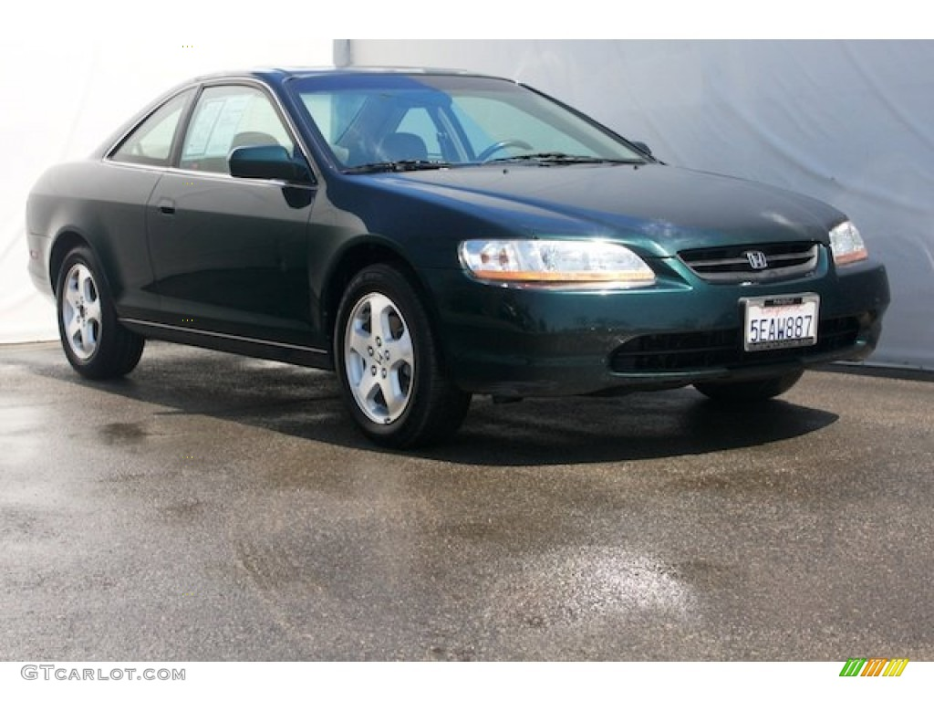 New Dark Green Pearl Honda Accord