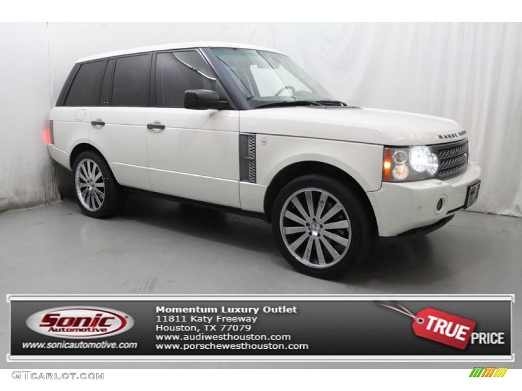2007 Range Rover Supercharged - Chawton White / Sand Beige photo #1