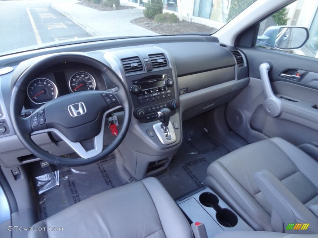 Gray Interior 2007 Honda Cr V Ex L 4wd Photo 79211071 Gtcarlot Com