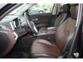 Jet Black/Brownstone Front Seat Photo for 2010 Chevrolet Equinox #79216289
