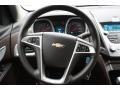 Jet Black/Brownstone Steering Wheel Photo for 2010 Chevrolet Equinox #79216490