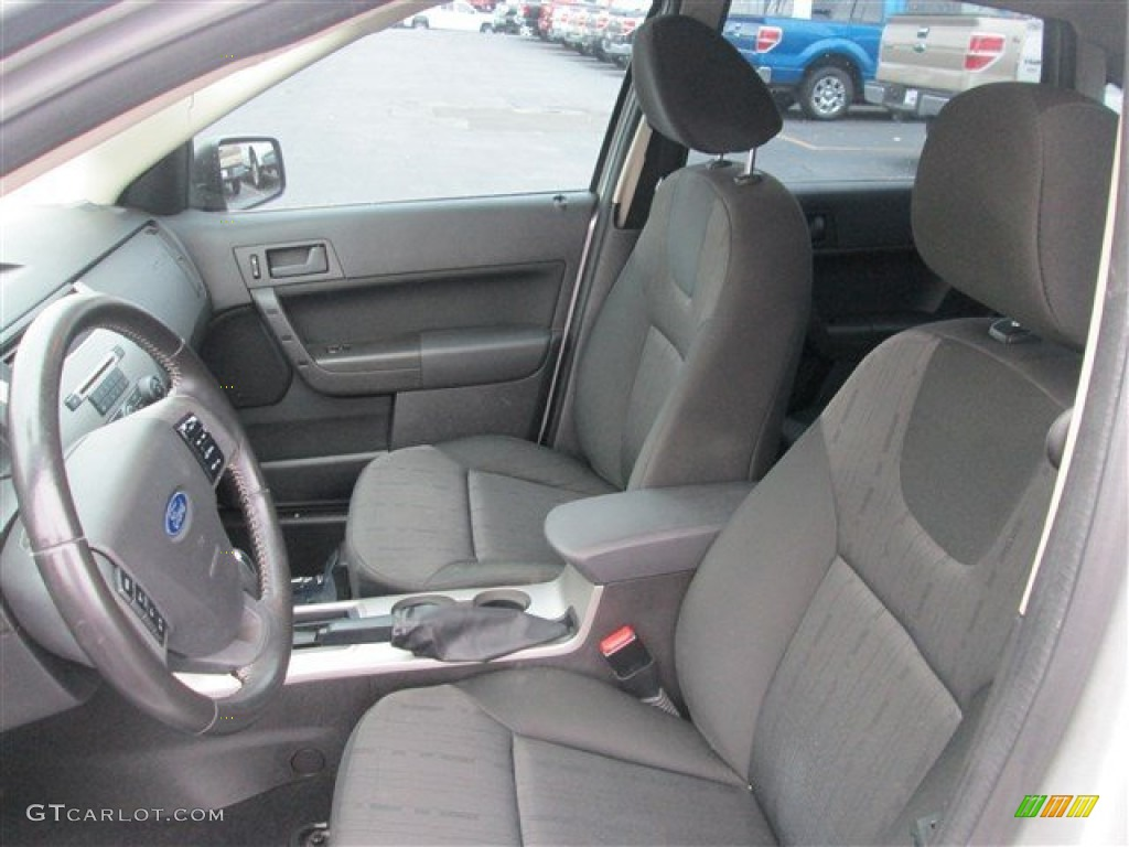 Charcoal Black Interior 2009 Ford Focus Se Sedan Photo 79222950