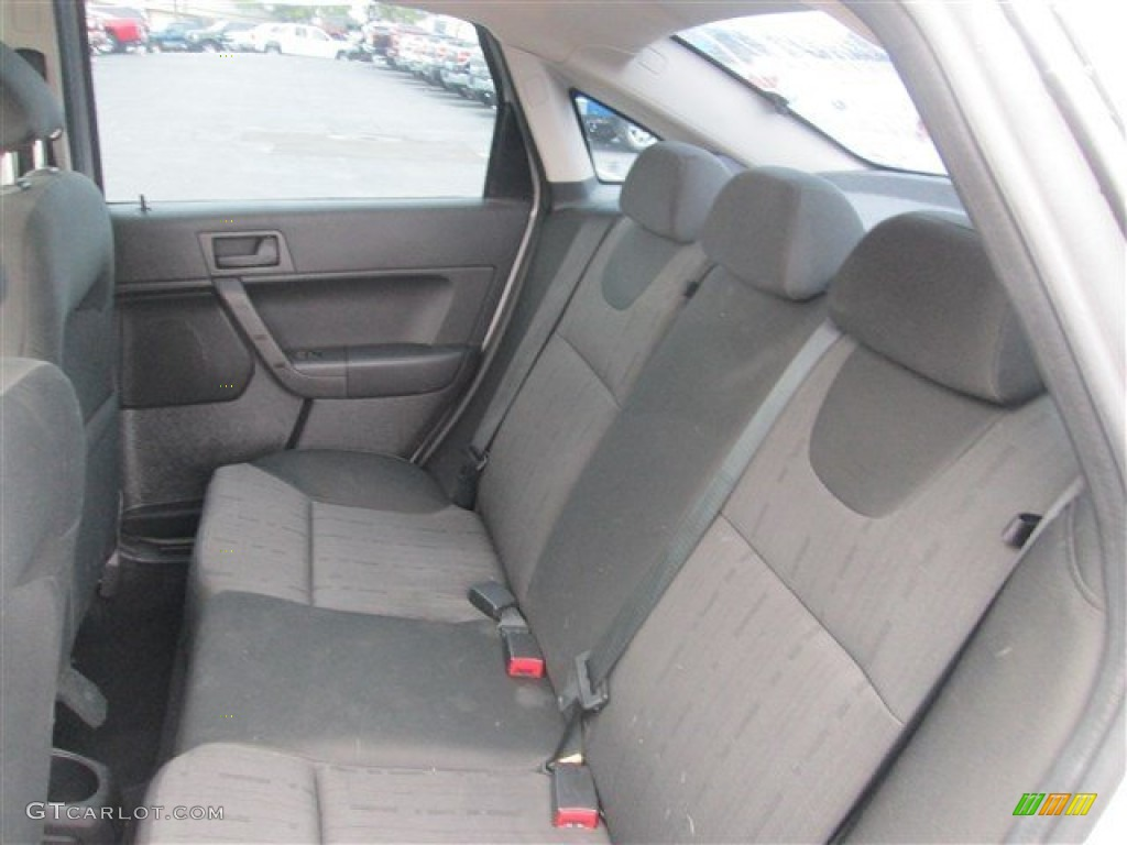 Charcoal Black Interior 2009 Ford Focus Se Sedan Photo 79222969