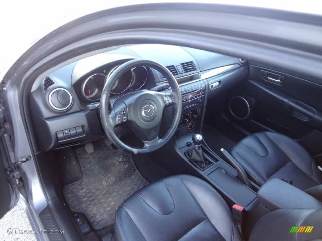 2005 mazda mazda3 s sedan interior photos. Black Bedroom Furniture Sets. Home Design Ideas