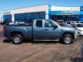 2012 Blue Granite Metallic Chevrolet Silverado 1500 LS Extended Cab  photo #1