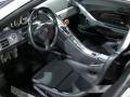 2005 Carrera GT Dark Grey Natural Leather Interior