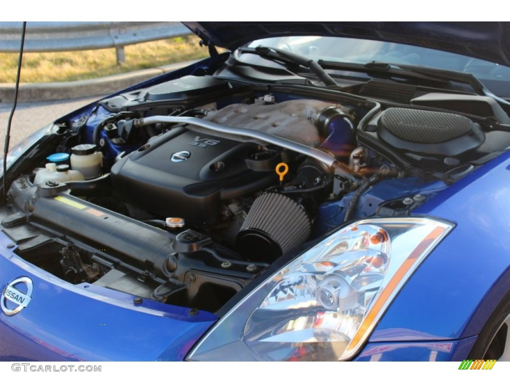 2003 nissan 350z touring coupe engine photos. Black Bedroom Furniture Sets. Home Design Ideas