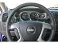 2013 Blue Topaz Metallic Chevrolet Silverado 1500 LT Crew Cab 4x4  photo #15