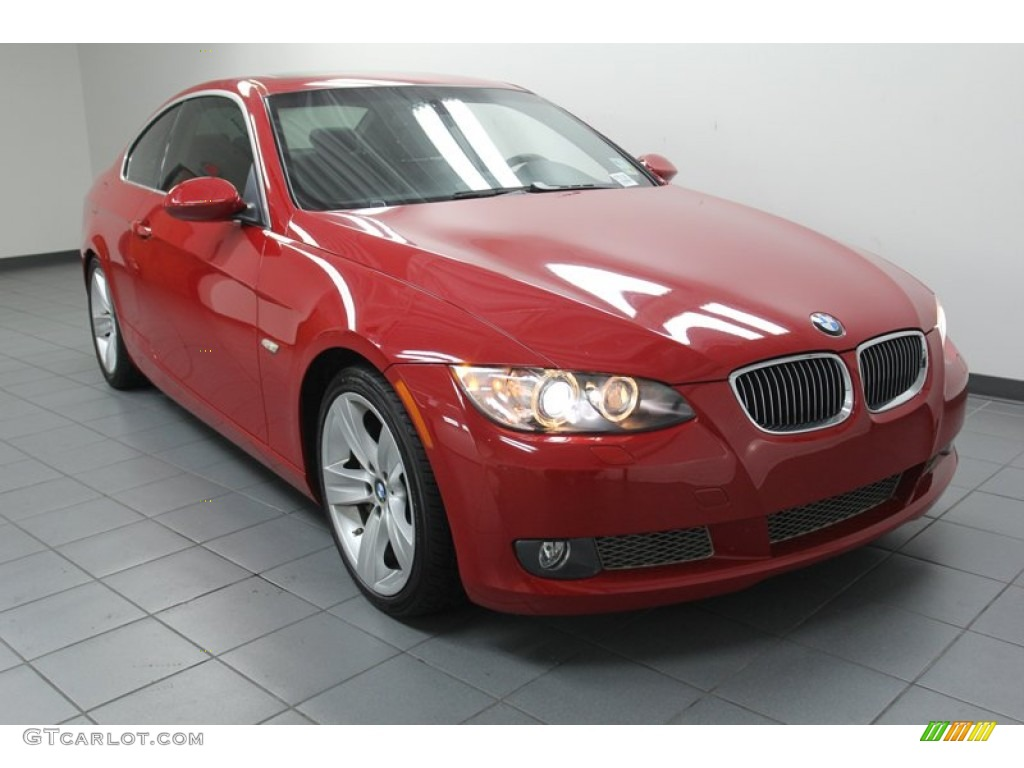crimson red 2007 bmw 3 series 335i coupe exterior photo. Black Bedroom Furniture Sets. Home Design Ideas