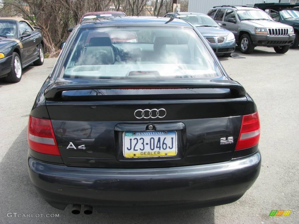 1999 volcano black mica audi a4 2 8 quattro sedan 7916314. Black Bedroom Furniture Sets. Home Design Ideas