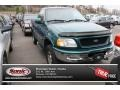 Pacific Green Metallic - F150 XLT Regular Cab 4x4 Photo No. 1