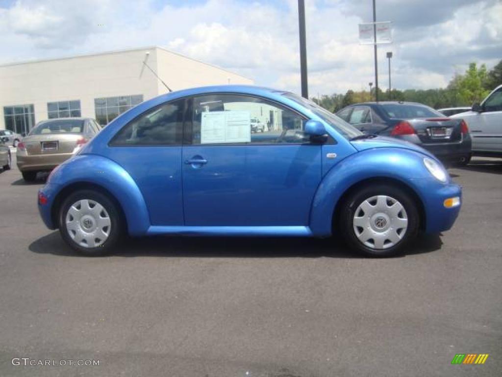2000 techno blue metallic volkswagen new beetle gls 1 8t. Black Bedroom Furniture Sets. Home Design Ideas