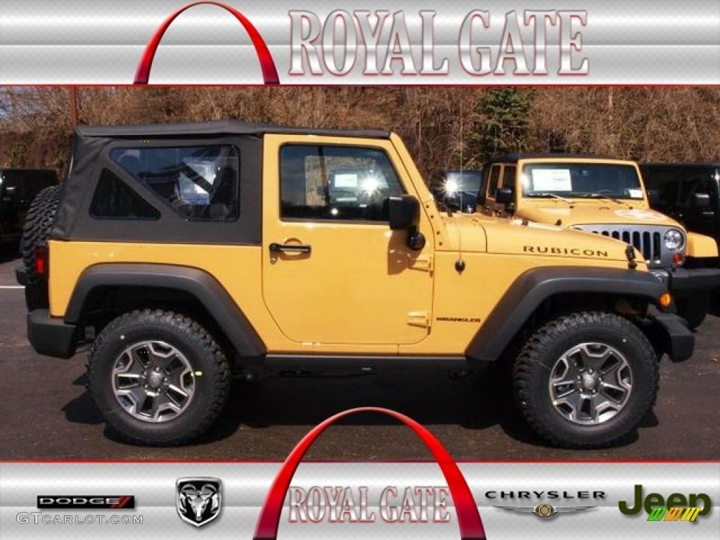 2013 Dune Beige Jeep Wrangler Rubicon 4x4 79263230 Gtcarlot Com