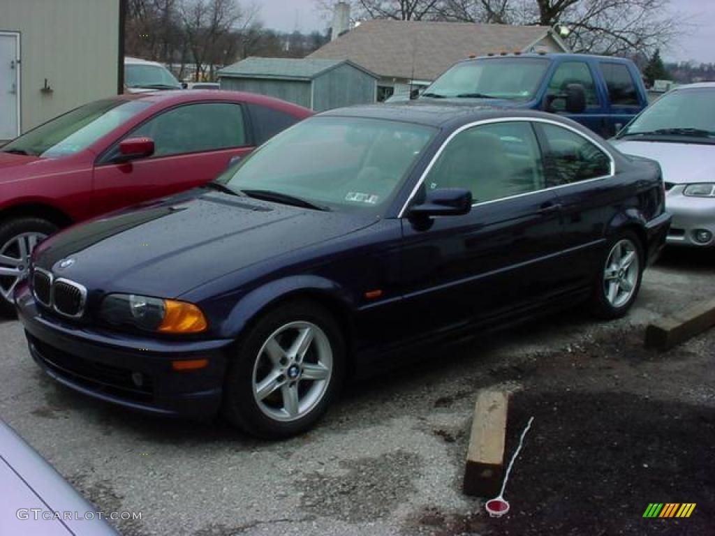 2002 Orient Blue Metallic Bmw 3 Series 325i Coupe  7910824