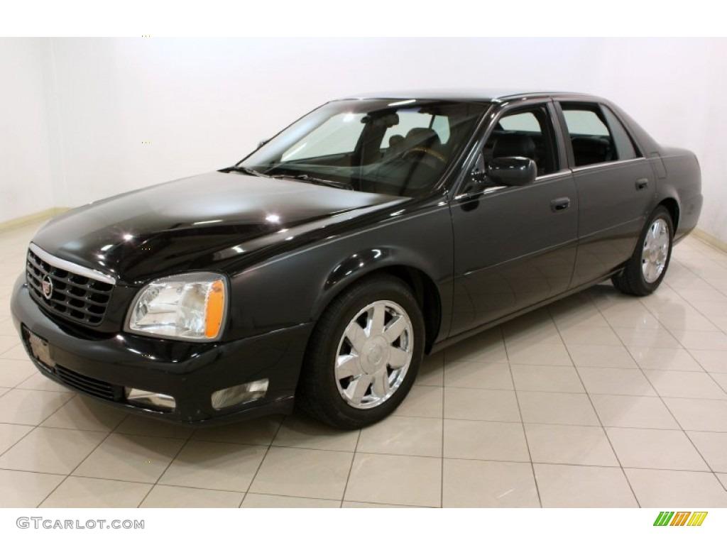 Black Raven 2004 Cadillac Deville Dts Exterior Photo 79318354