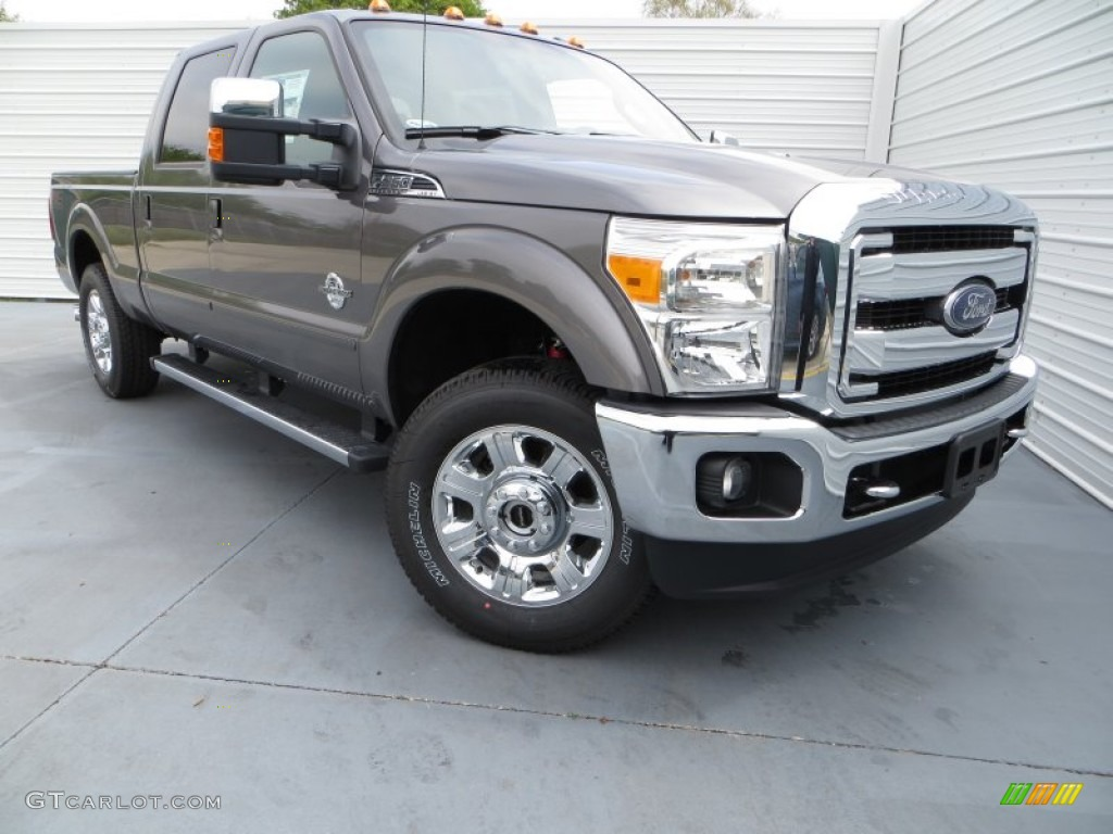 2013 sterling gray metallic ford f250 super duty lariat. Black Bedroom Furniture Sets. Home Design Ideas