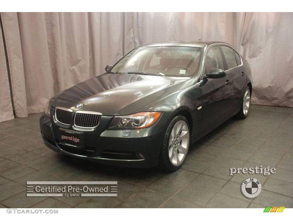 2006 deep green metallic bmw 3 series 330xi sedan 7910052. Black Bedroom Furniture Sets. Home Design Ideas