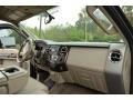 2010 Ford F250 Super Duty Camel Interior Dashboard Photo
