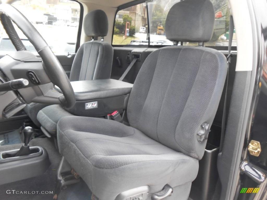 2004 Dodge Ram 1500 Rumble Bee Regular Cab 4x4 Front Seat Photo #79350043